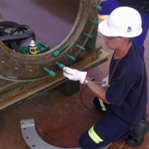 On-Line Leak Sealing Installation